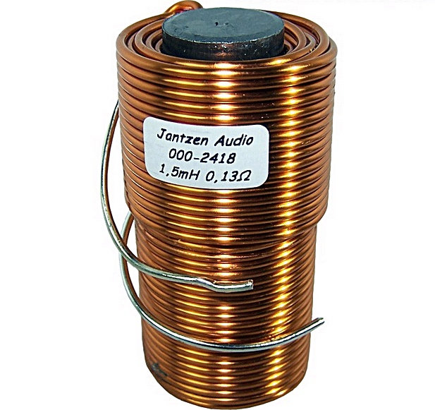 Jantzen Audio Kernspule  0,68mH 0,14Ohm AWG17 Iron Core Coil 1,2mm +//-3/%